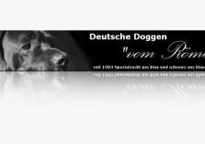 Werbebanner - Doggen vom Römersee