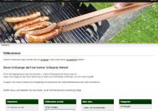 Relaunch der Grillzangen Website mit WAWI Anbindung